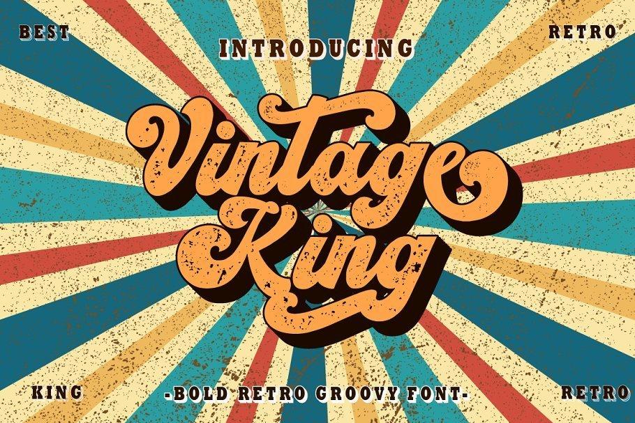 Vintage-King-Font