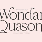 Wondar Quason Serif Typeface