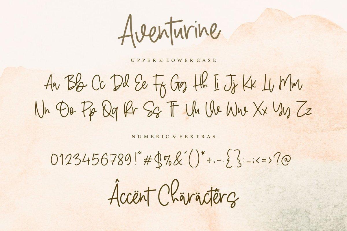 Aventurine-Font-3