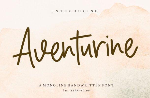 Aventurine Font
