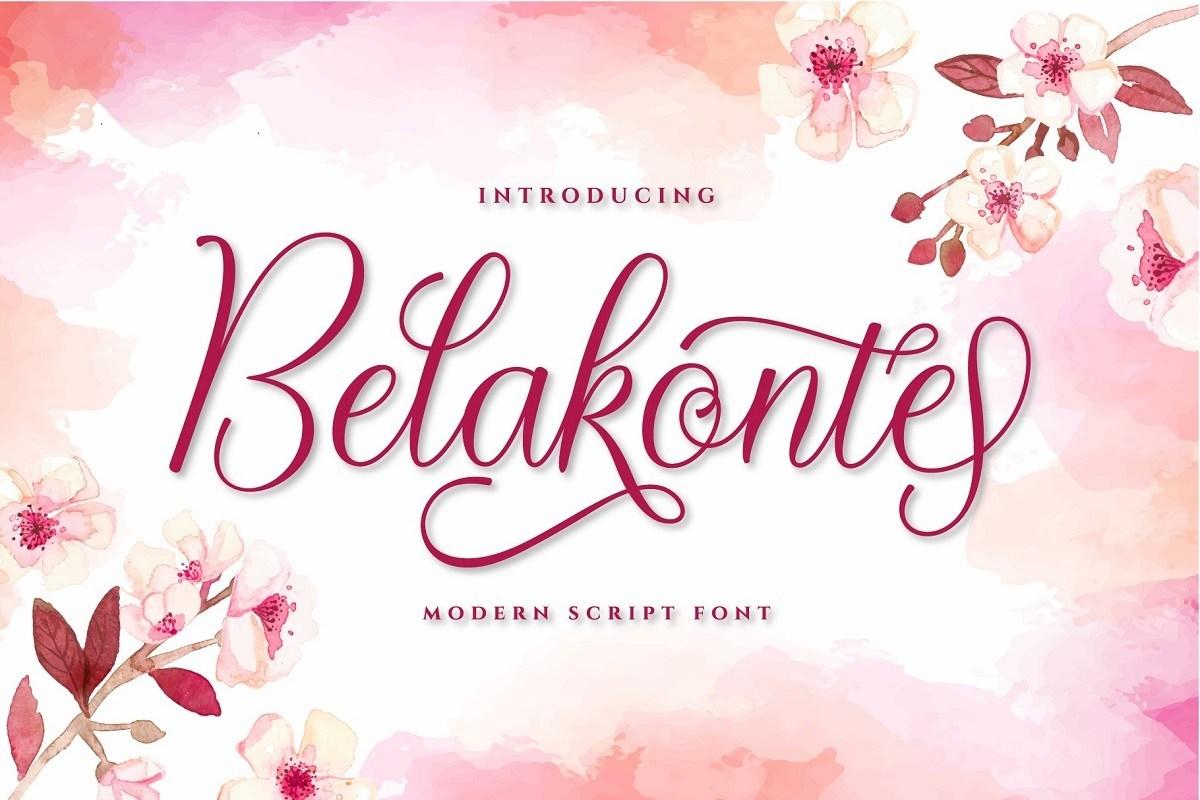 Belakonte-Font