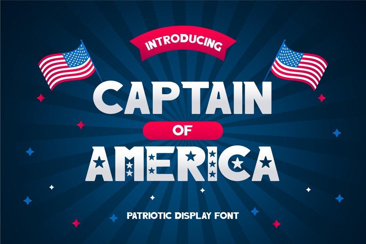Captain-of-America-Font