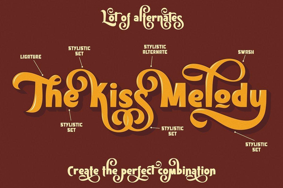 Kiss-Melody-Font-2