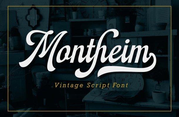 Montheim-Font
