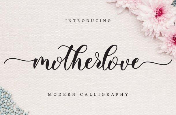 Motherlove Font