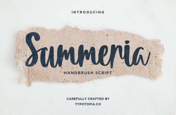 Summeria-Font