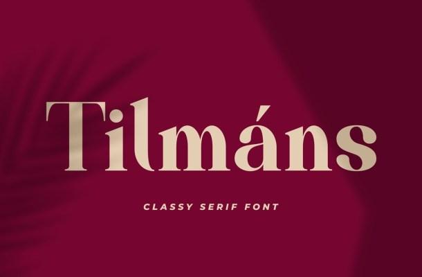 Tilmans-Font