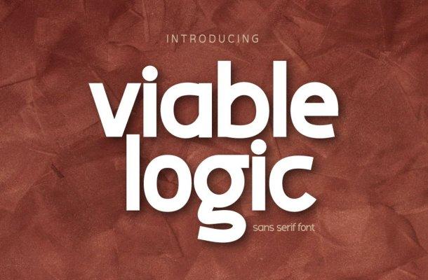 Viable Logic Font