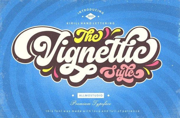 Vignettic Font