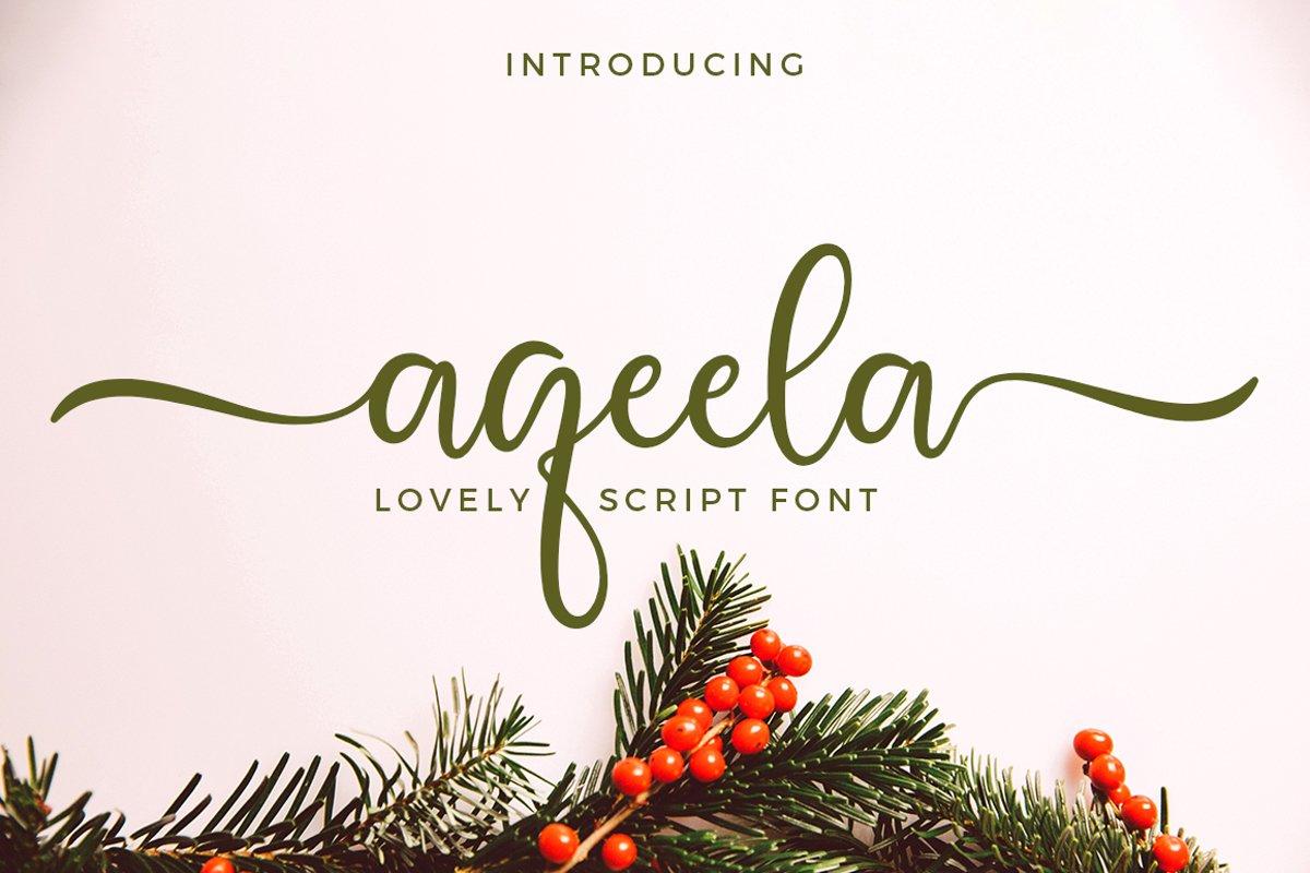 Aqeela-Font