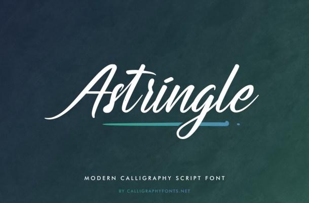Astringle-Font