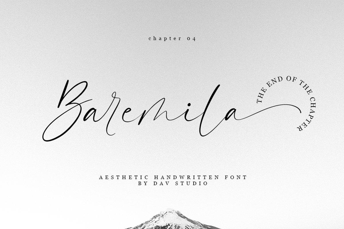 Baremila-Font
