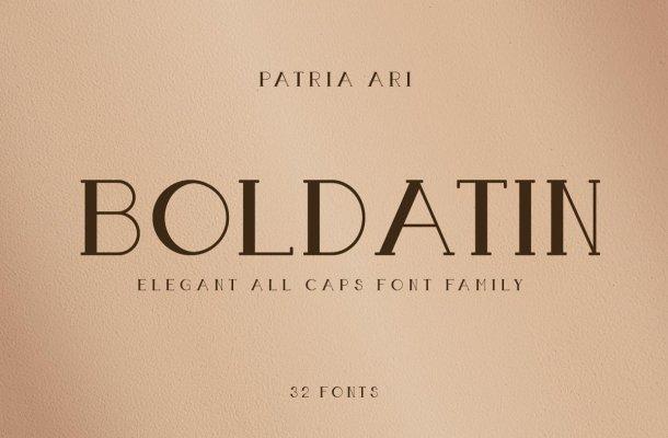 Boldatin-Font