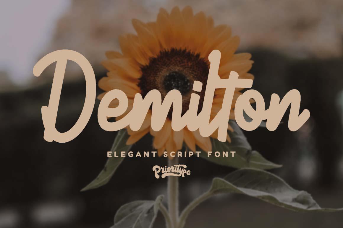 Demilton-Font