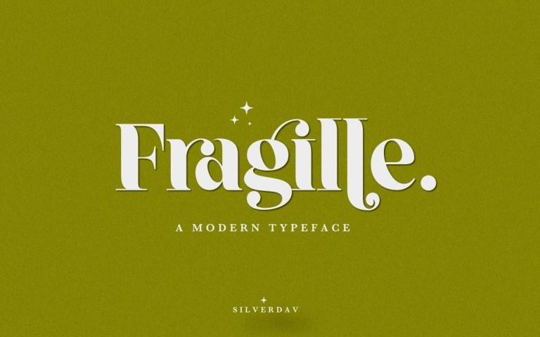 Fragille-Typeface