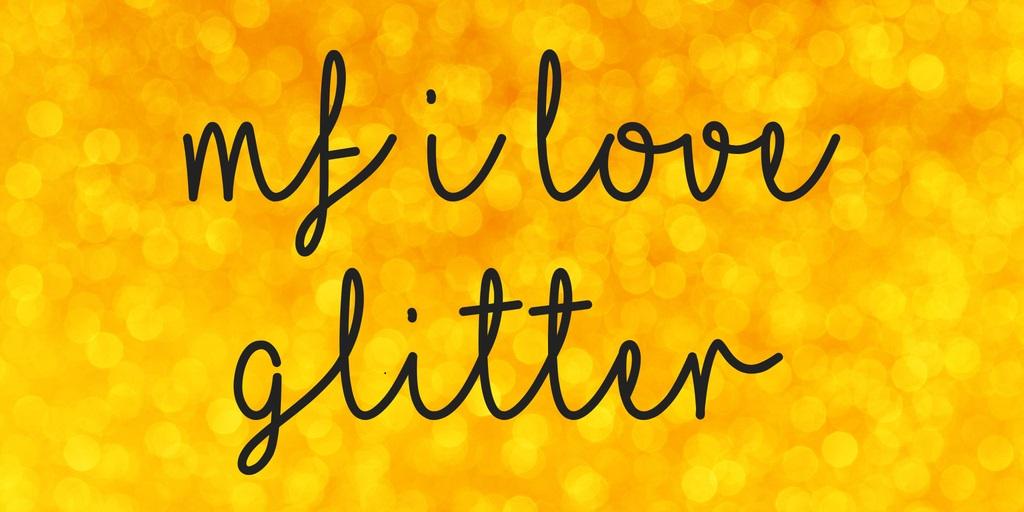 I-Love-Glitter-Font-2