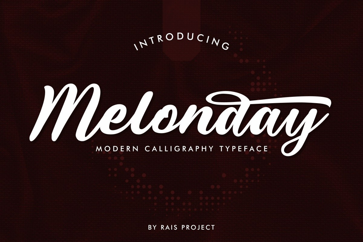 Melonday-Font