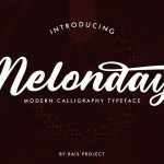 Melonday Font