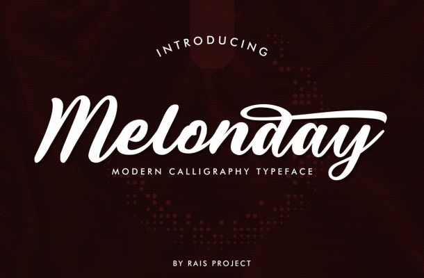 Melonday Font