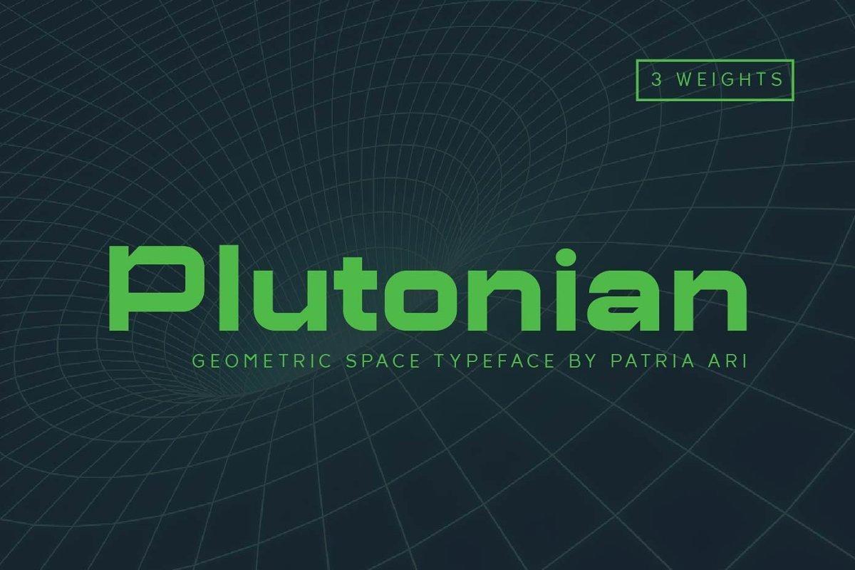Plutonian-Typeface