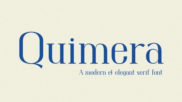 Quimera-Font