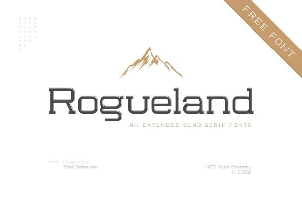 Rogueland-Slab-Font