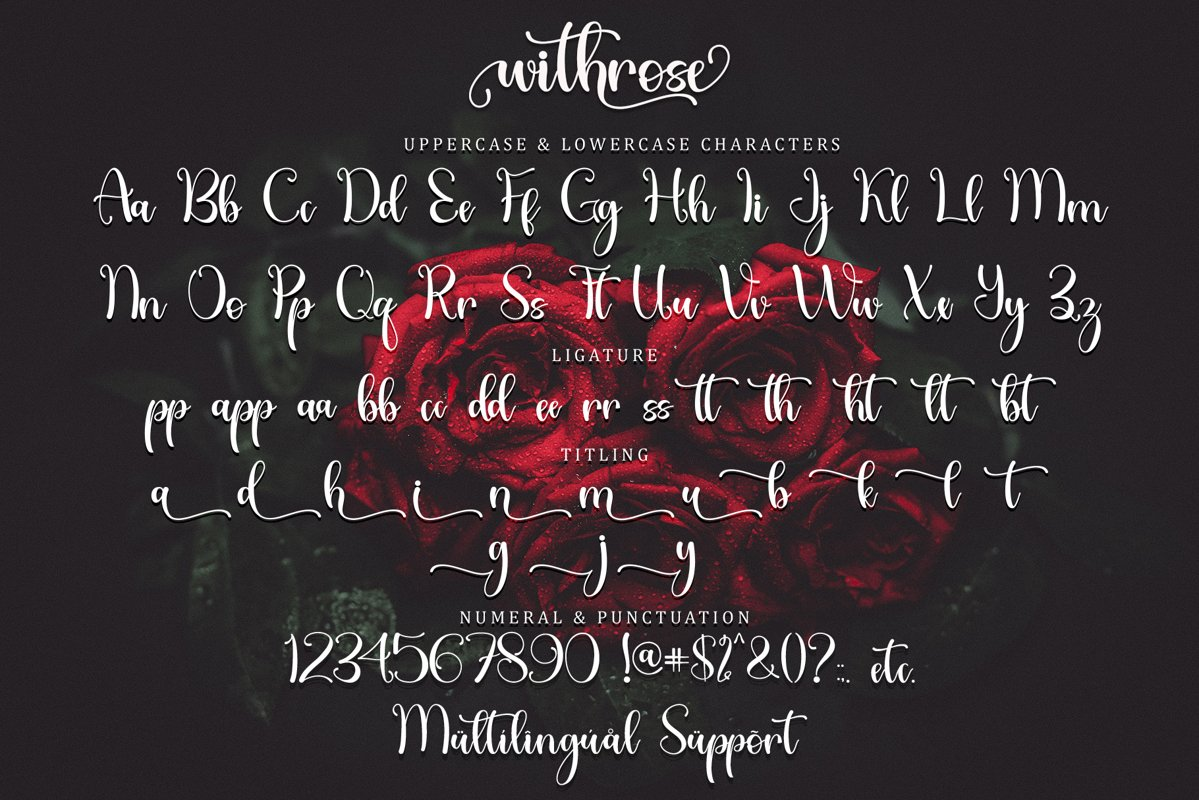 Withrose-Font-3