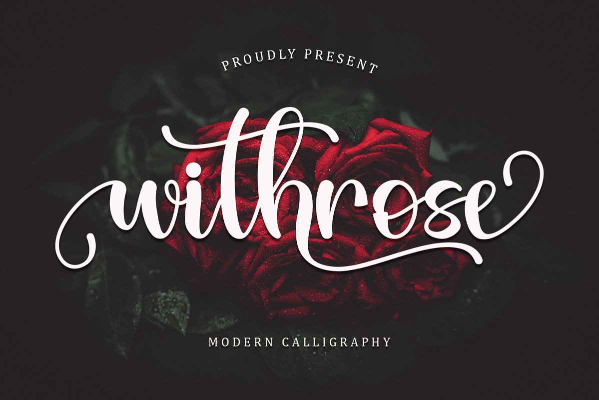 Withrose-Font