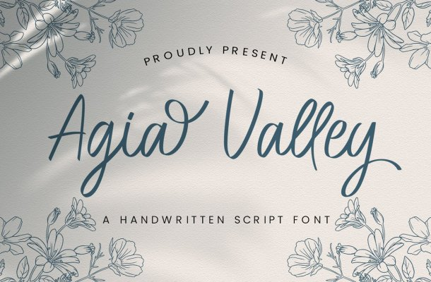 Agia-Valley-Font