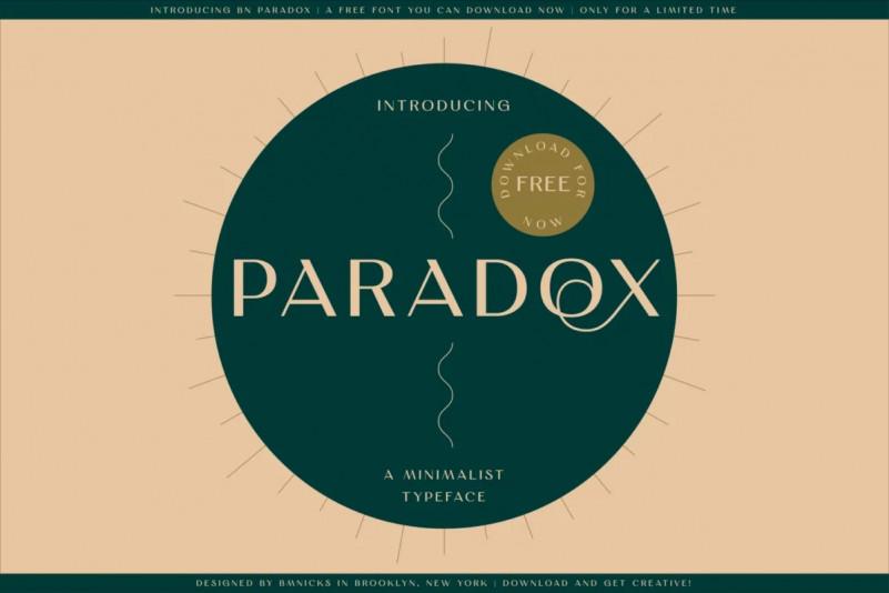 BN-Paradox-Free-Font