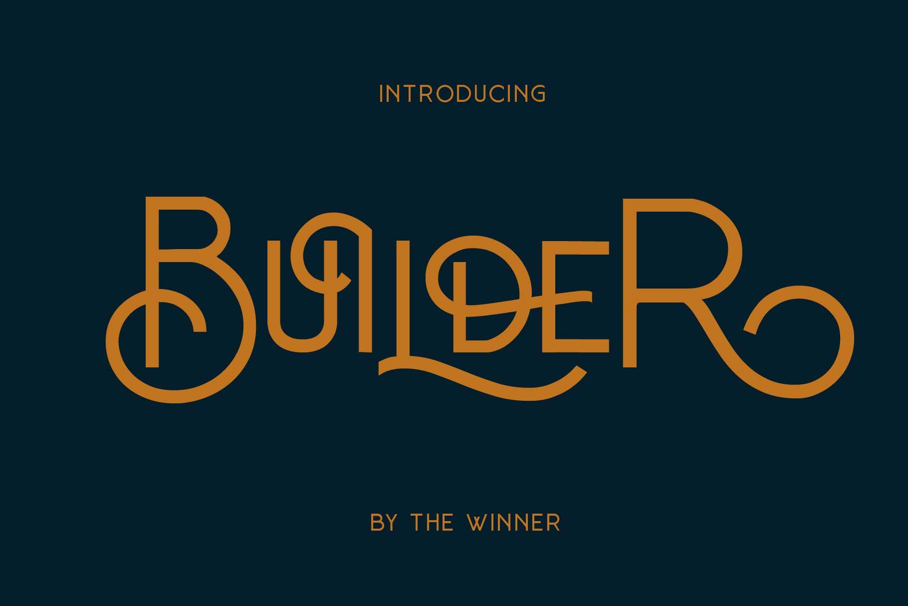 Builder-Font