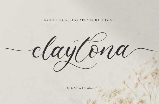 Claytona-Font