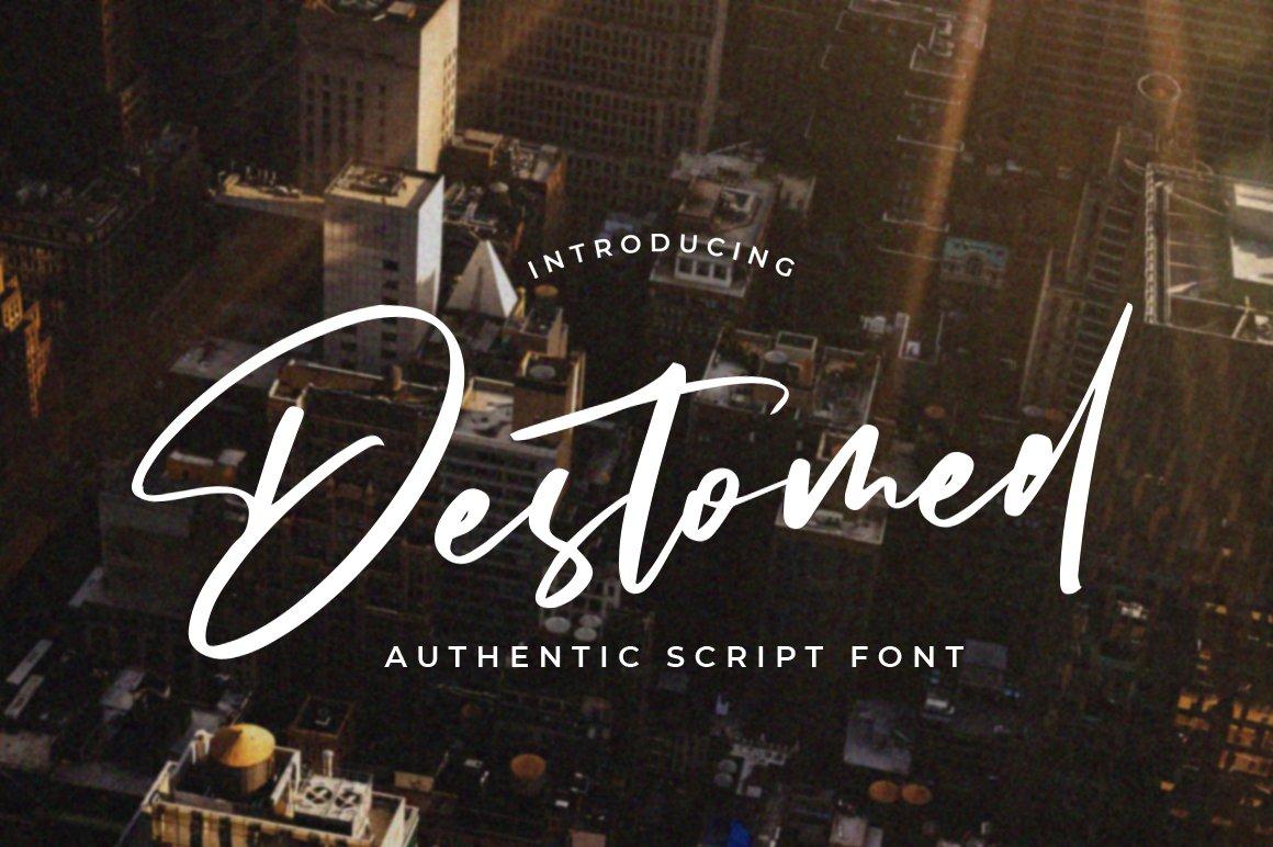 Destomed-Font