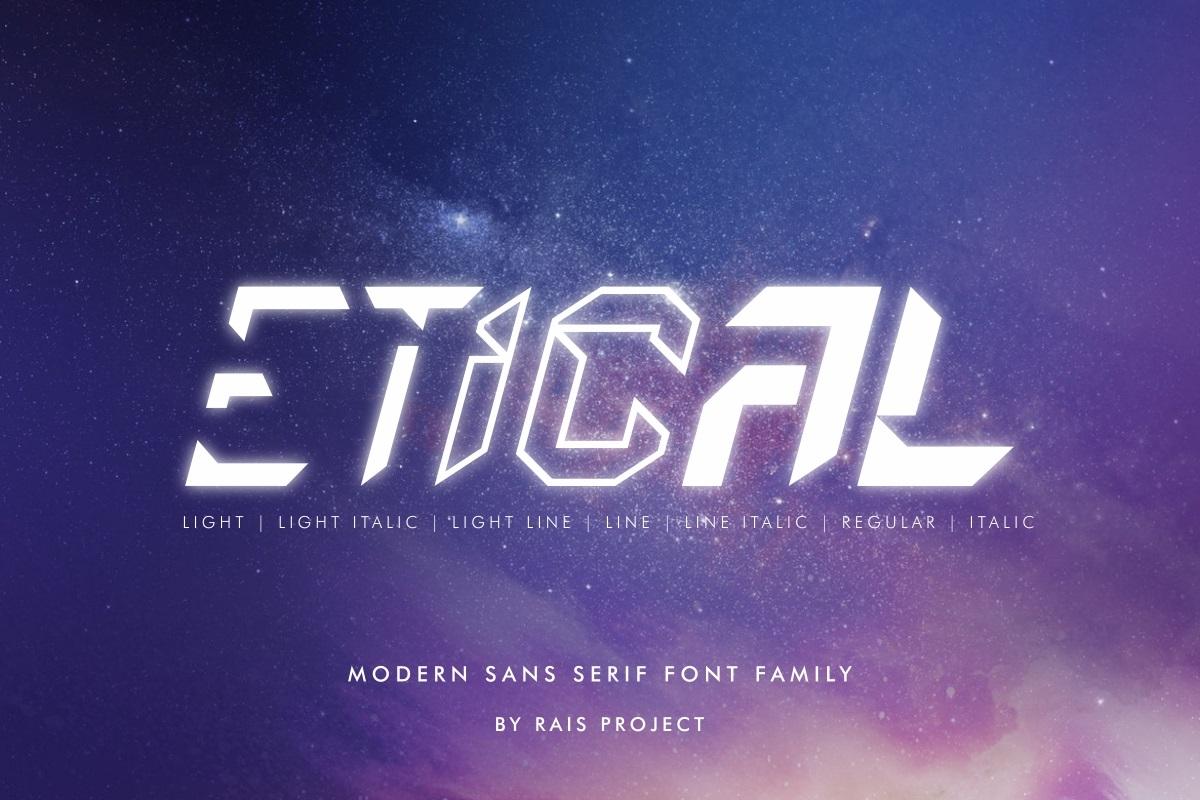 Etical-Font