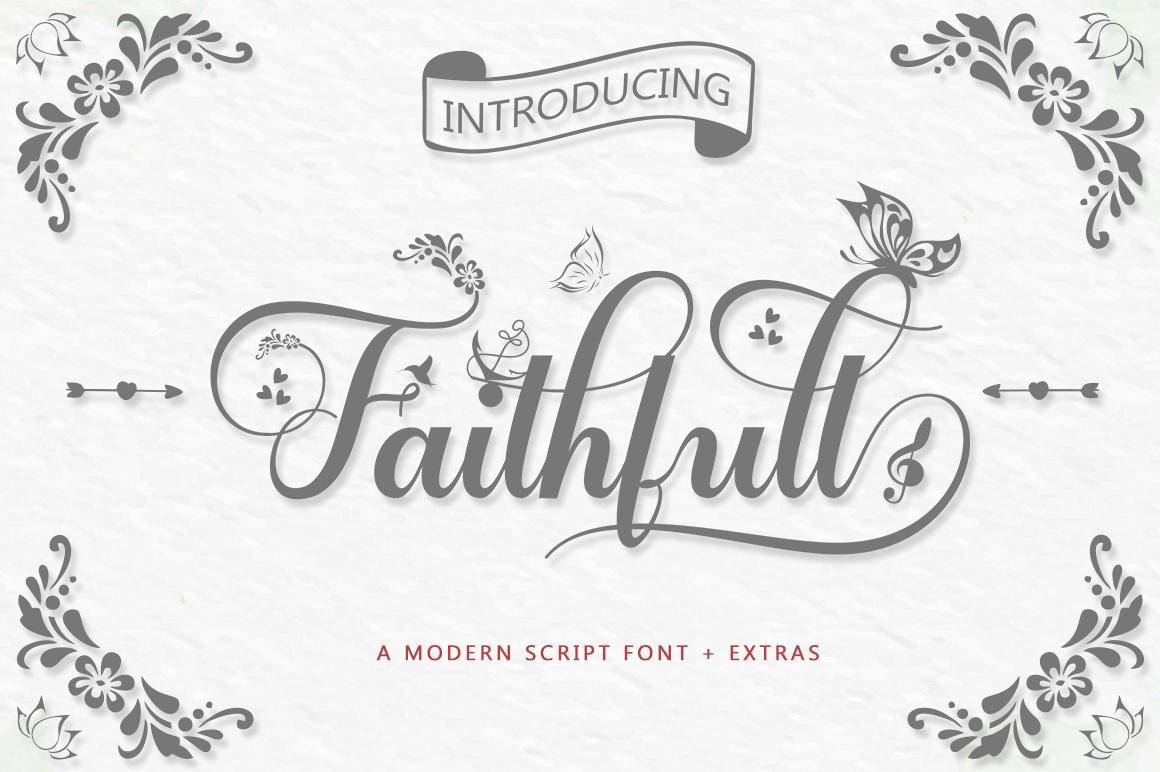 Faithfull-Font