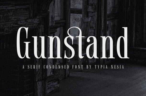 Gunstand-Font