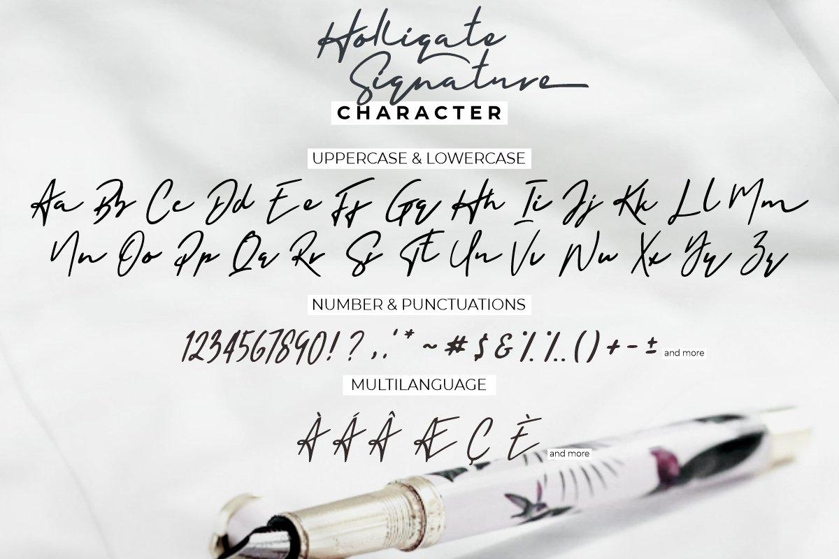 Holligate-Signature-Font-3