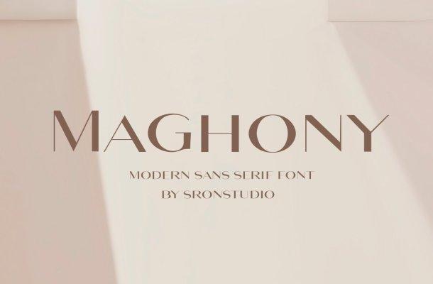 Maghony-Font-1