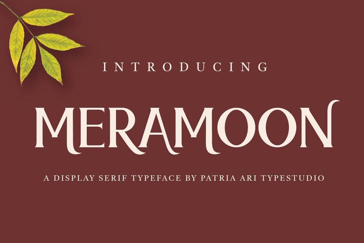Meramoon-Font
