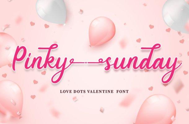 Pinky-Sunday-Font