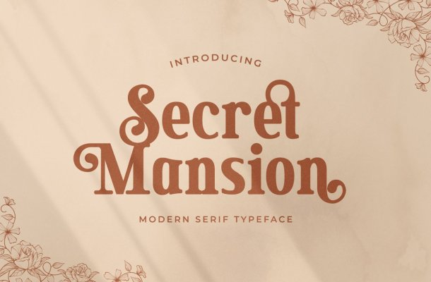 Secret-Mansion-Font