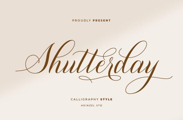 Shutterday-Calligraphy-Font-1