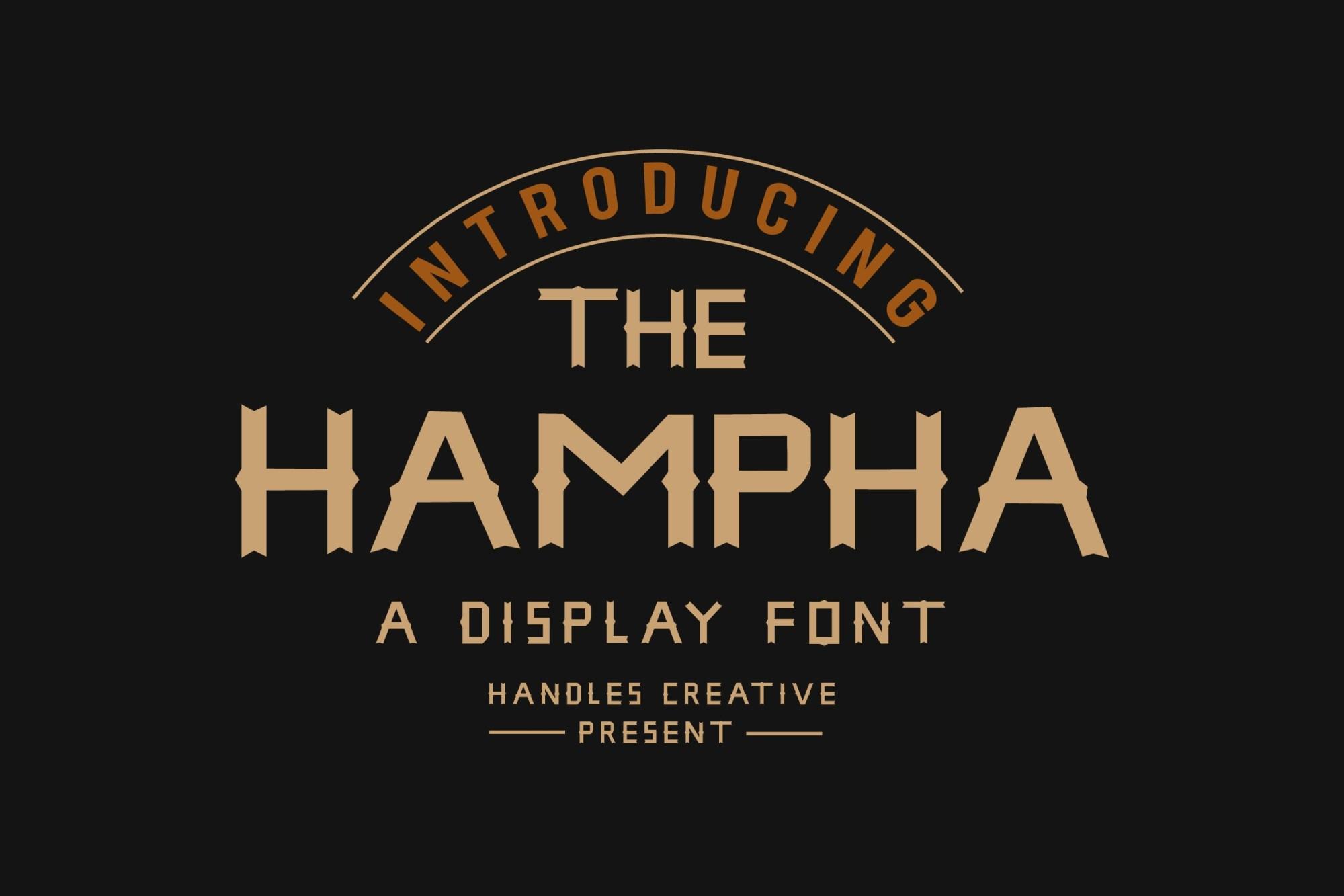 The-Hampha-Font