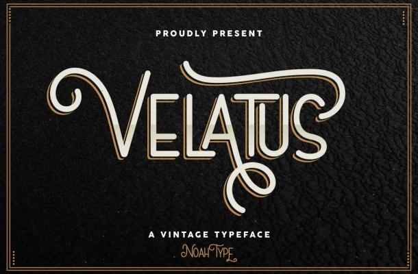 Velatus-Font