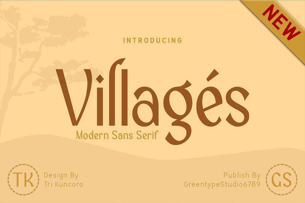 Villages-Modern-Sans-Serif-Font-1