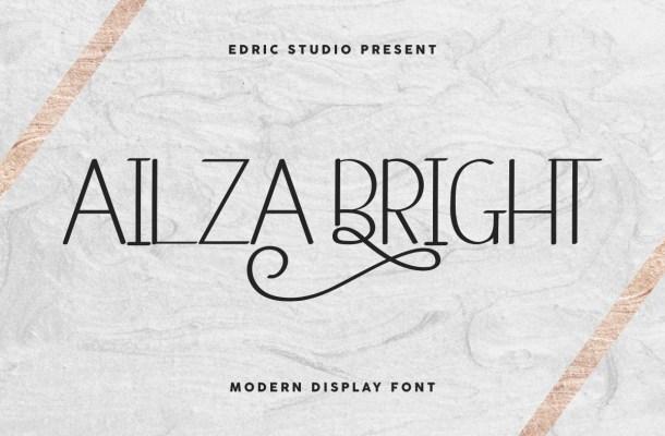 Ailza Bright Font