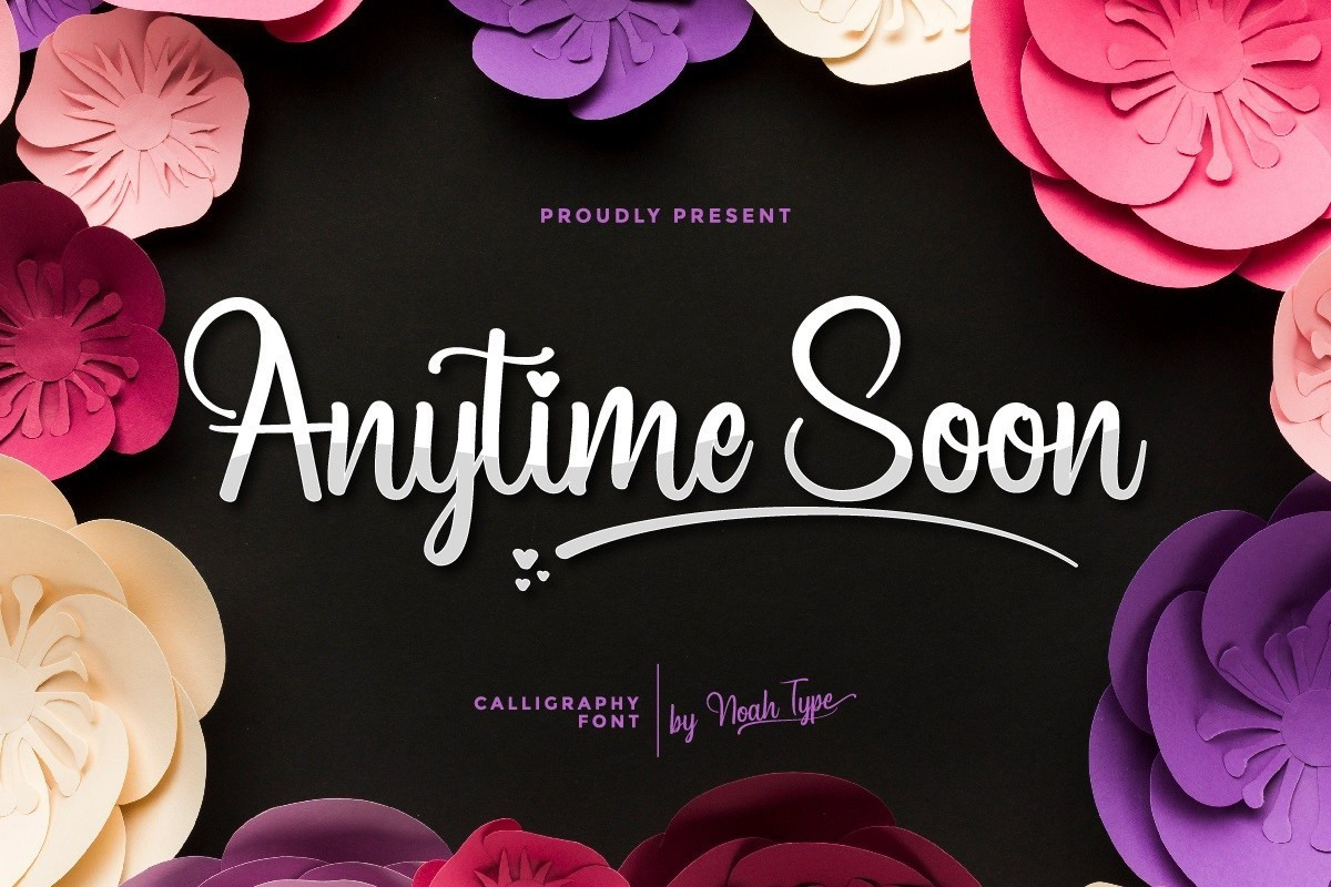 Anytime-Soon-Font