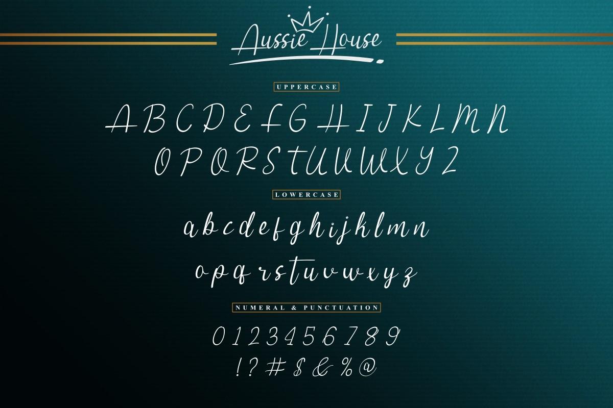 Aussie-House-Font-3