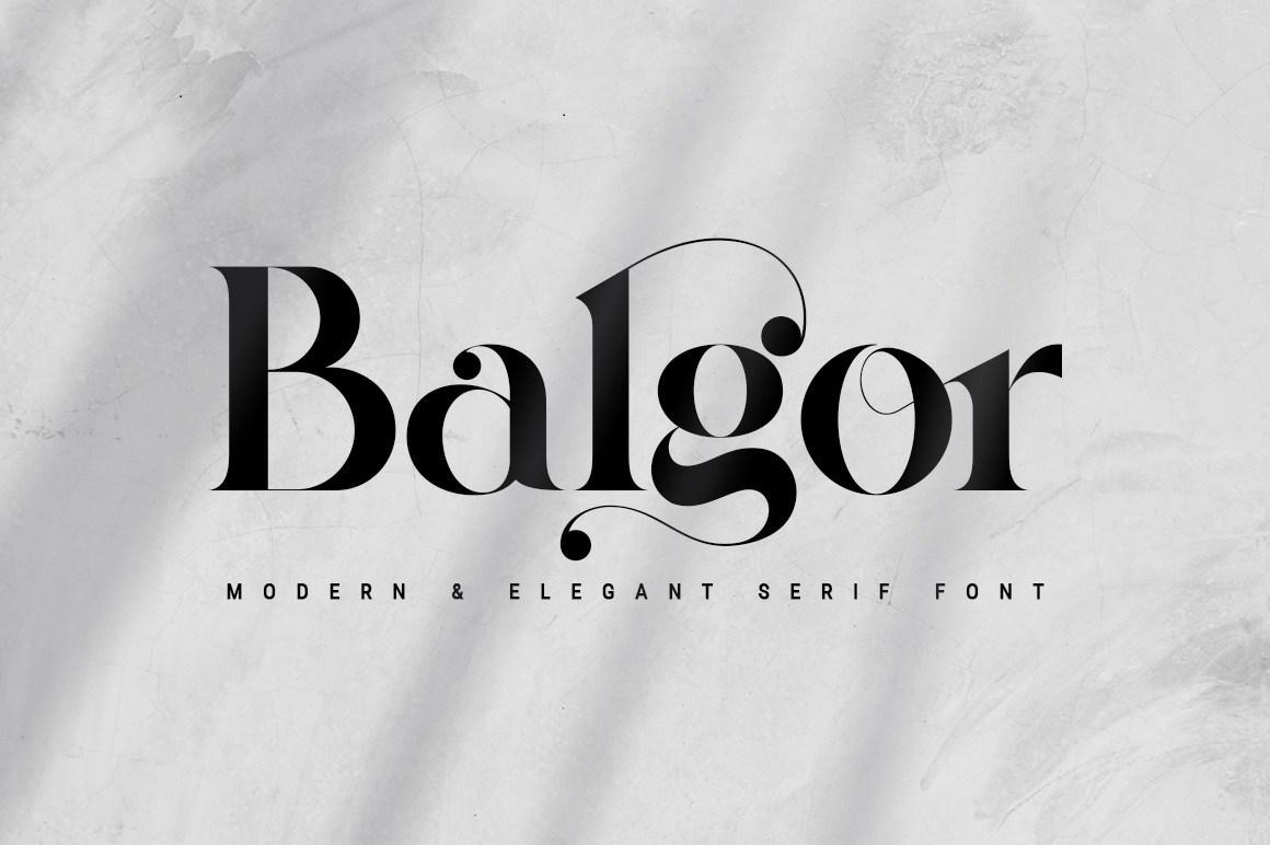 Balgor-Font