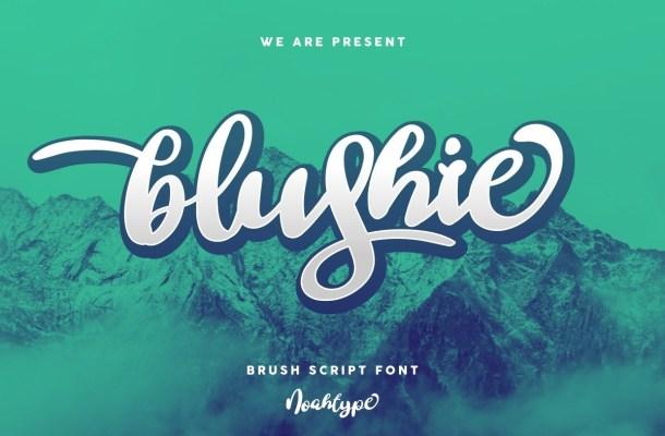 Blushie Font